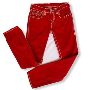 Red True Religion Jeans Boys size 10